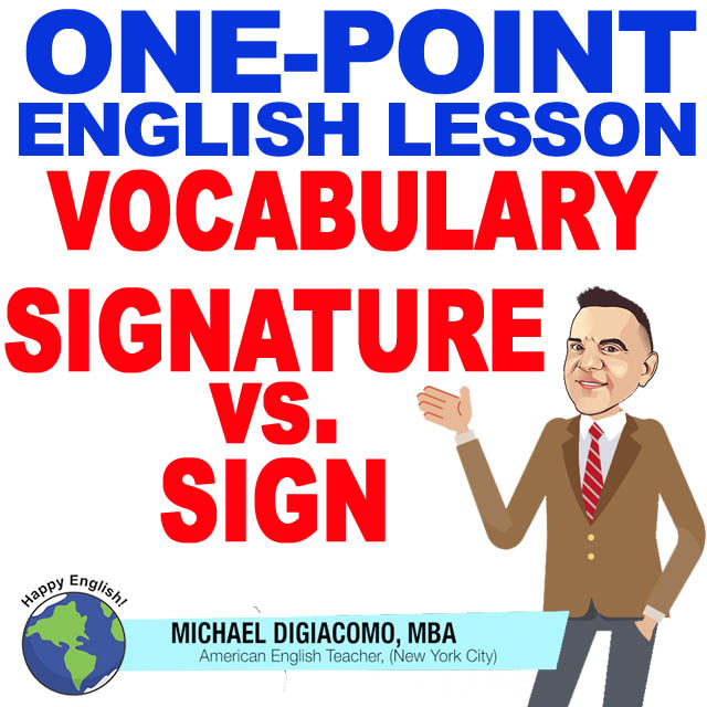 learn-english-free-lesson-Signature-sign