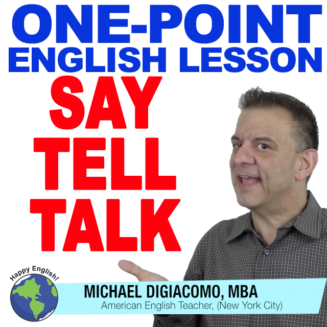 learn-english-free-lesson-SAY-TELL-TALK