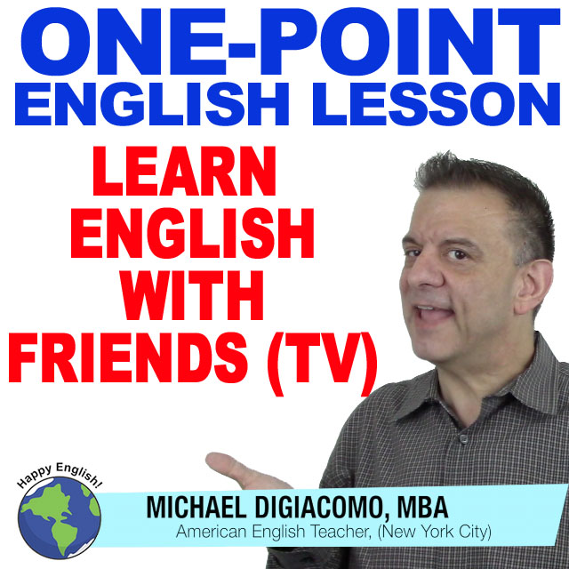 Learn English with FRIENDS TV SHOW! Season 1 Episode 2