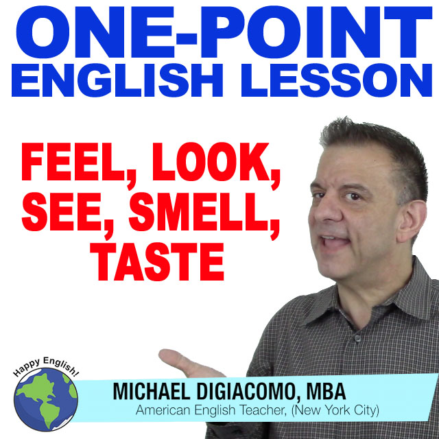 learn-english-free-lesson-fell-see-look-smell-taste