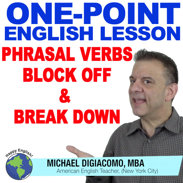 learn-english-free-lesson-block-off-break-down