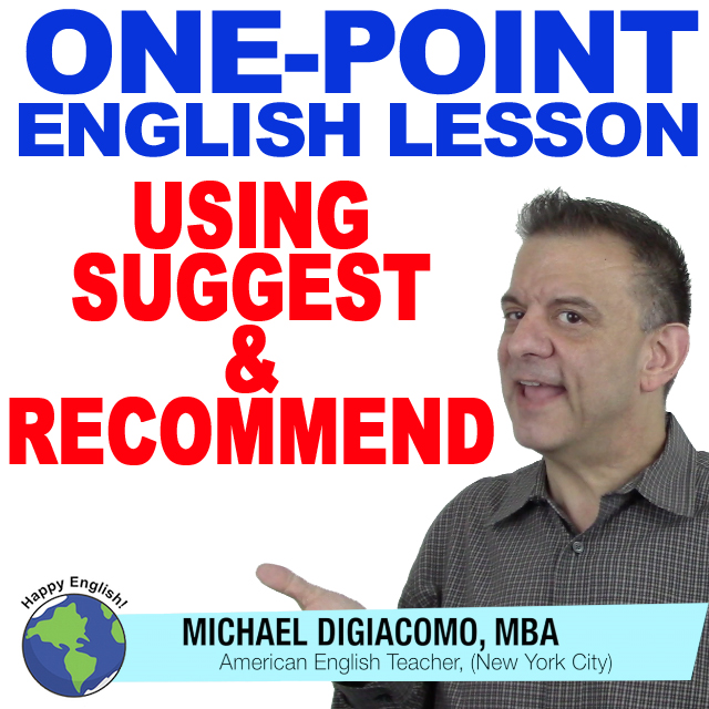 learn-english-free-lesson-suggest-recommend
