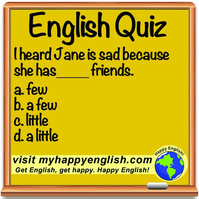 happy-english-free-english-lesson-QUIZ-few