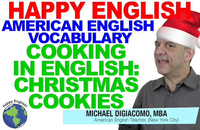 christmas-cookies-santa-VOCABULARY-HAPPY-AMERICAN-ENGLISH-LESSON