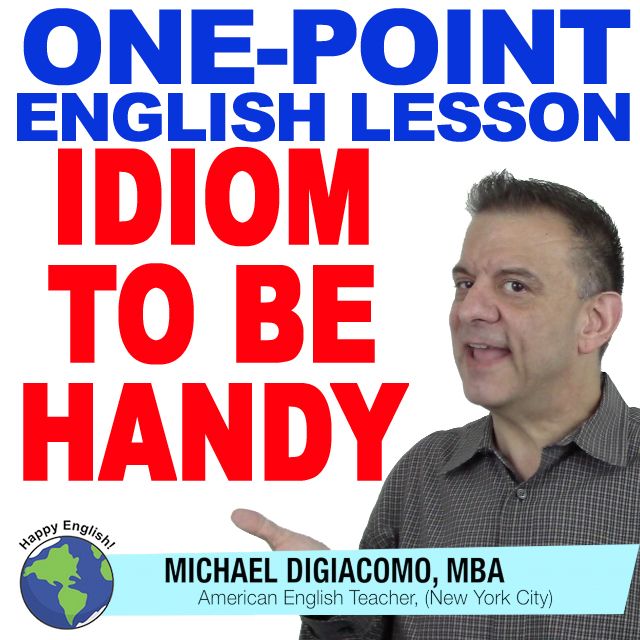 learn-english-free-lesson-to-be-handy