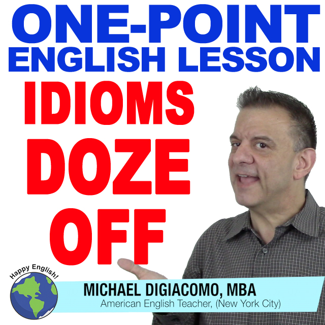 learn-english-free-lesson-DOZE-OFF