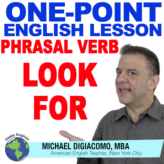 learn-english-free-lesson-LOOK-FOR