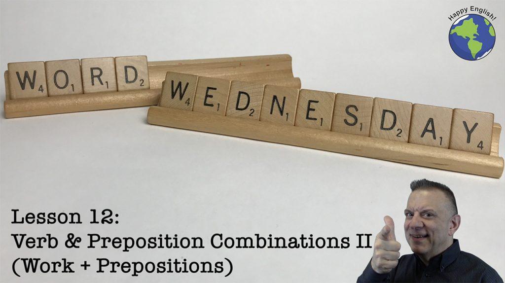 work+Prepositions