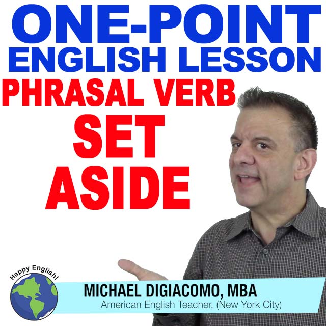learn-english-free-lesson-SET-ASIDE