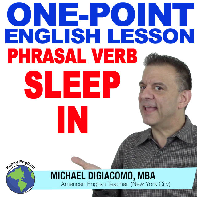 learn-english-free-lesson-sleep-in