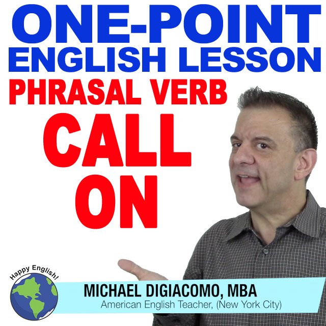 learn-english-free-lesson-CALL-ON