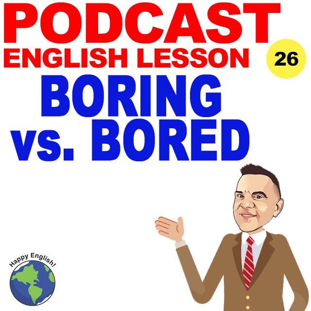 PODCAST-ENGLISH-BORED-BORING