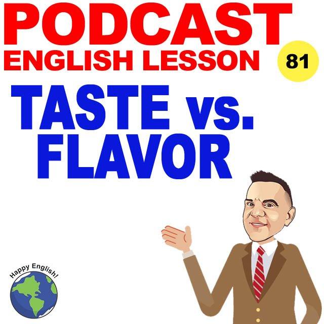 PODCAST-ENGLISH-TASTE-FLAVOR