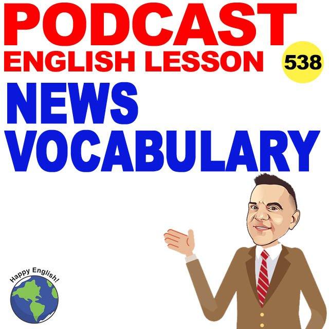 PODCAST-ENGLISH-NEWS-VOCABULARY