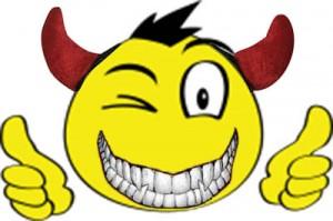 Smiley-devil