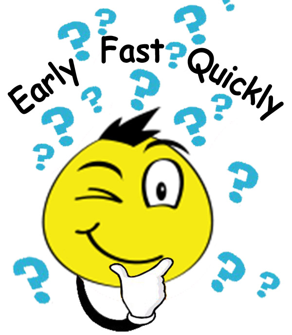 58 early fast quickly confusing english vocabulary lesson