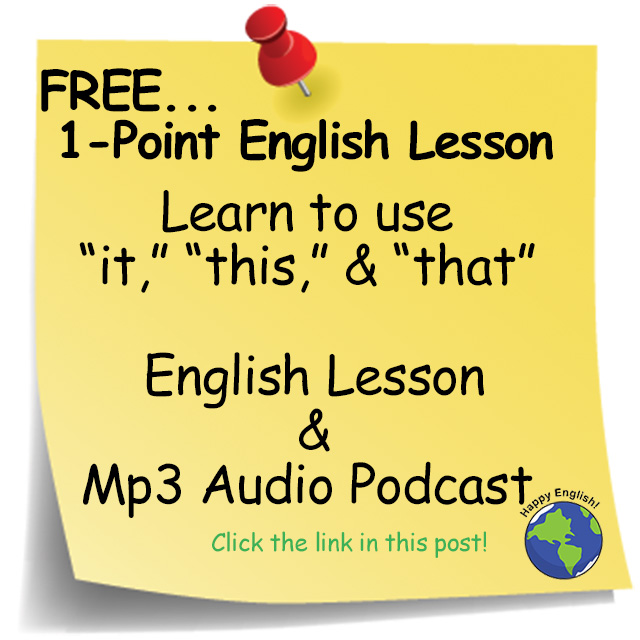 free-english-lesson-It-This-That-for-Reference-English-Grammar