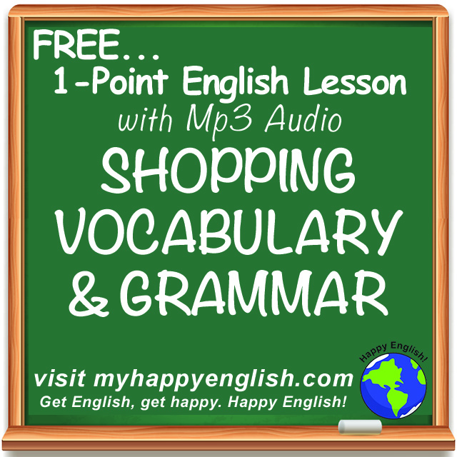 happy-english-free-english-lesson-podcast-shopping-vocabulary