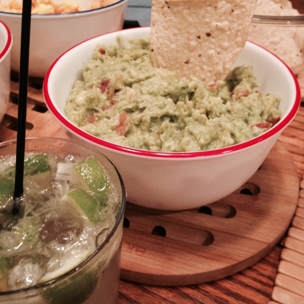 The whole family ate all of the guacamole!