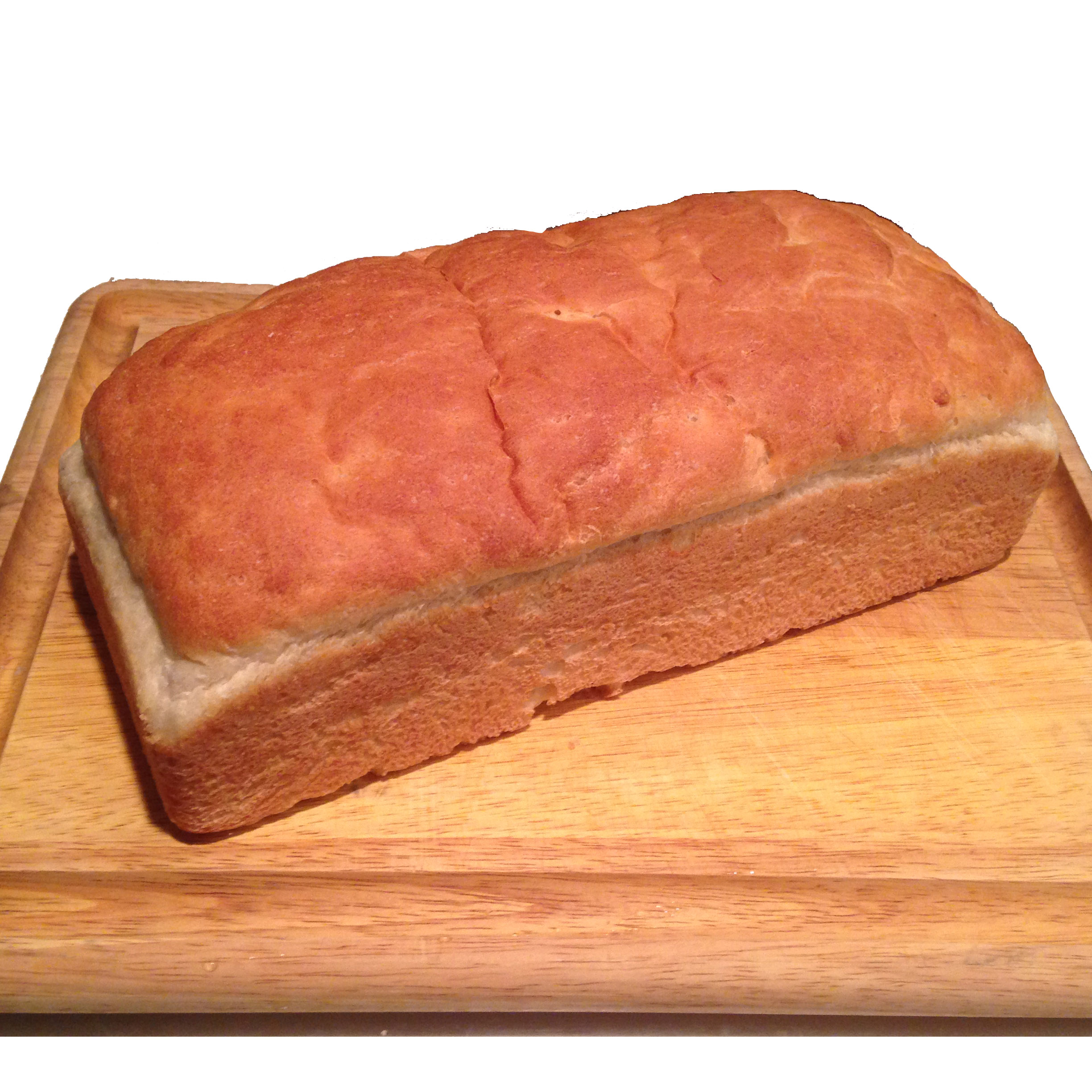 I baked a loaf of bread. It came out great!