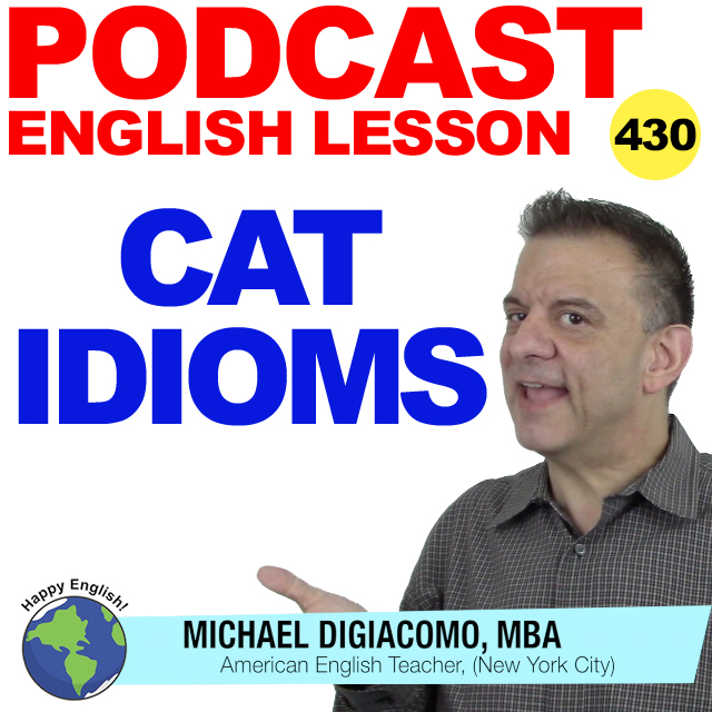 PODCAST-ENGLISH-LESSON-CAT-IDIOMS